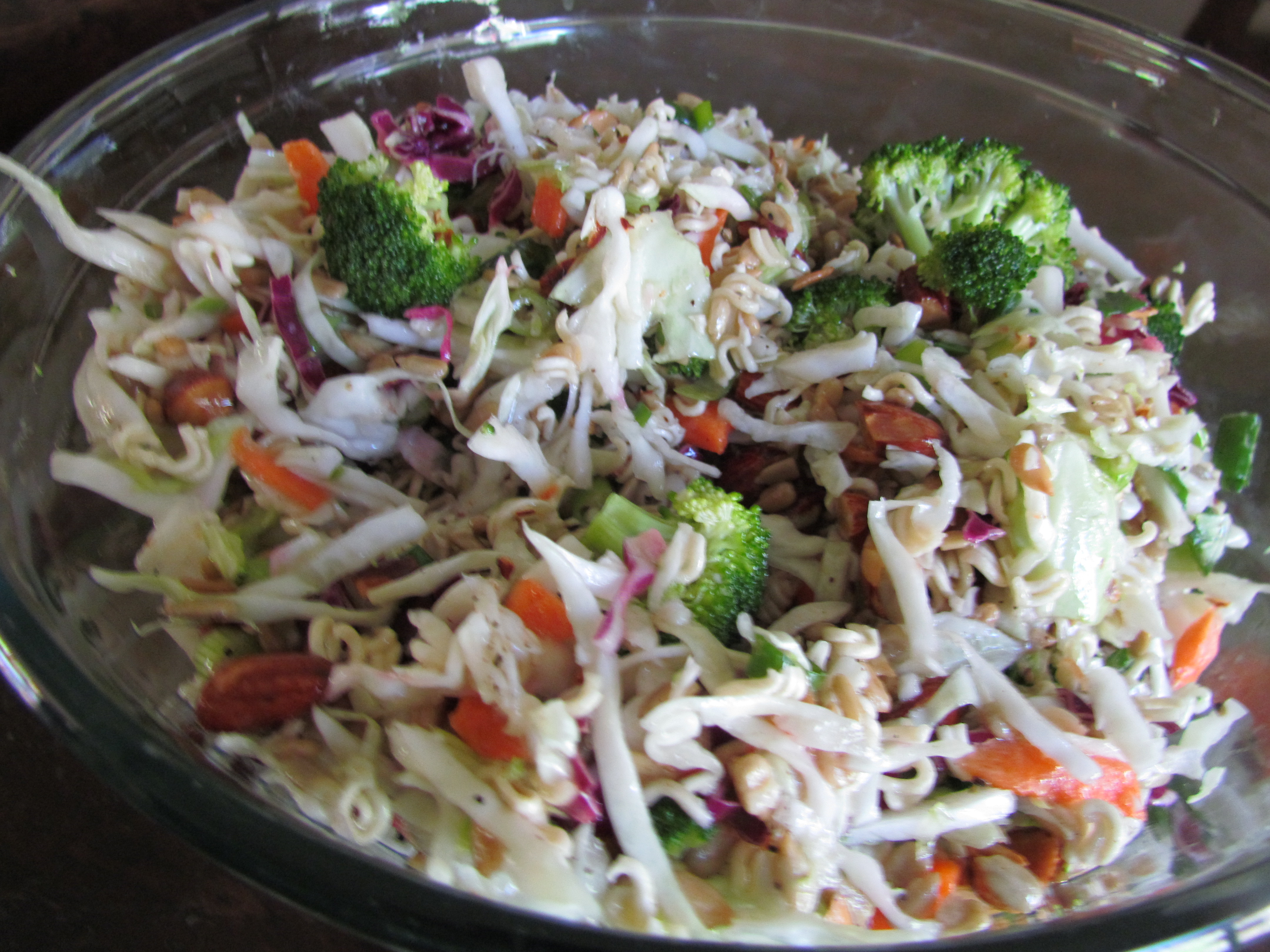 oriental ramen cole slaw salad  cook'n with mrs g